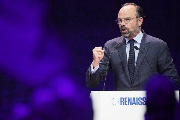 Edouard Philippe, en meeting, le 11 mai 2019