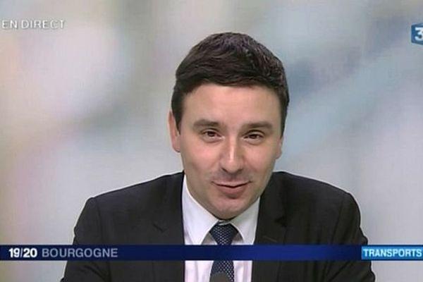 Laurent Grandguillaume, député socialiste de la 1re circonscription de Côte-d'Or