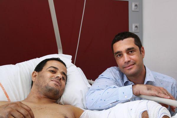 Abdelkarim et le docteur Gay