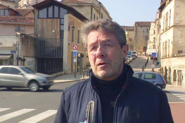 Antoine Audi, visiblement amer de la décision de mettre fin au projet