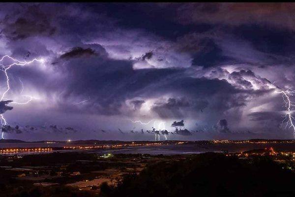 La photo d'orages préférée du chasseur d'orage.