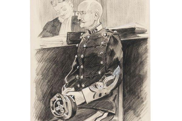 Le capitaine d'Alfred Dreyfus lors de son procès