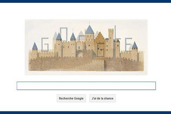 Le moteur de recherches rend hommage à l'architecte Eugène Viollet-le-Duc, dont on fête donc le 200e anniversaire de la naissance le 27 janvier 2014