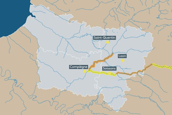 Vigilances crues jaune et orange pour les rivières Aisne et Oise, le 20/07/2021