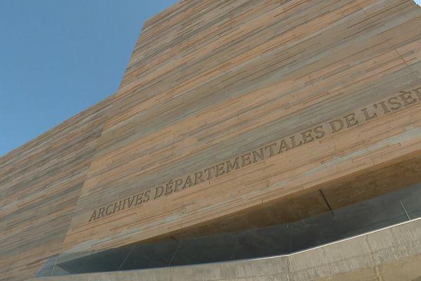 Le nouveau bâtiment des archives départementales de l'Isère a été inauguré le 27 mai 2021 à Saint-Martin-d'Hères.