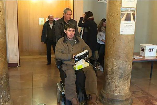 David Sauveur assiste au procès de ses trois agresseurs à Perpignan