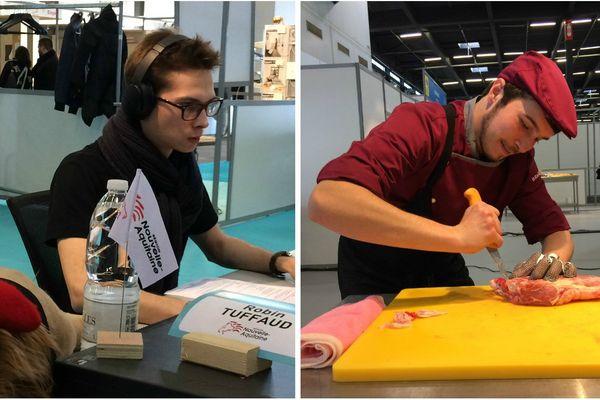 Robin Tuffaud, candidat Nouvelle-Aquitaine en Web Design, Maxime David, candidat Nouvelle-Aquitaine en boucherie