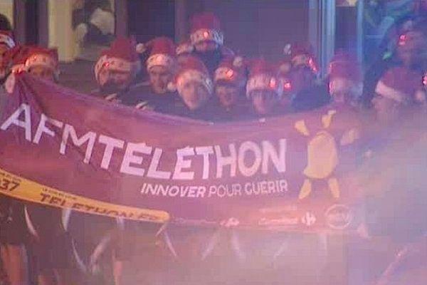 Des bénévoles mobilisés vendredi pour le Téléthon à Boulogne-sur-mer.