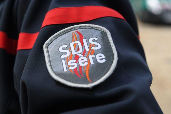 Les sapeurs-pompiers de l'Isère sont intervenu le 20 juin 2021 sur une fuite de gaz dans une usine Seveso à Saint-Clair-du-Rhône, en Isère.