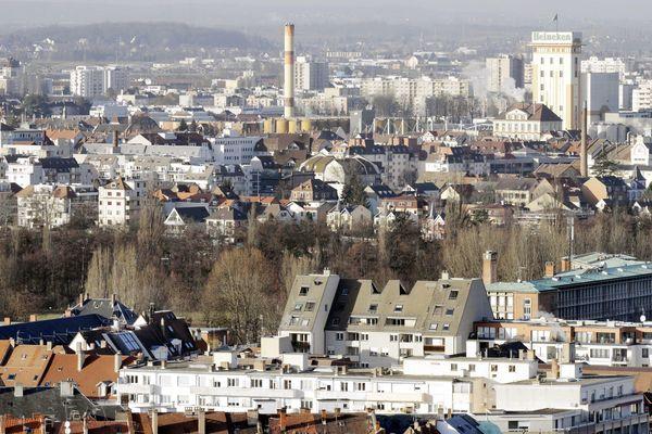 La ville de Schiltigheim.