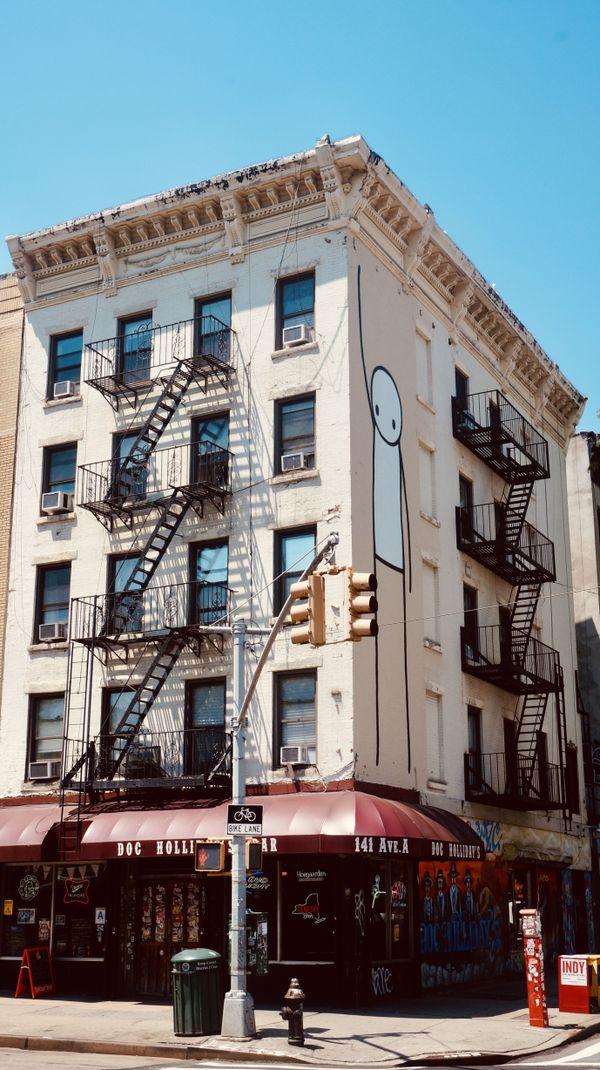 14ème Rue, East Village, Manhattan