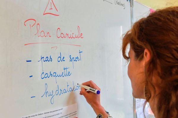 Illustration - Plan canicule, des mesures de protection dans les écoles de Provence-Alpes.