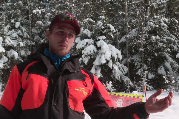 """Pour Antoine, pisteur-secouriste des 2 Alpes, """"l'entraide en montagne coule de source"""""""