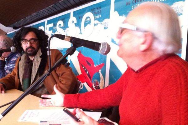 Bertrand Mandico, le réalisateur de Notre Dame des hormones, répond aux questions de Claude Duty lors des rencontres Expresso.