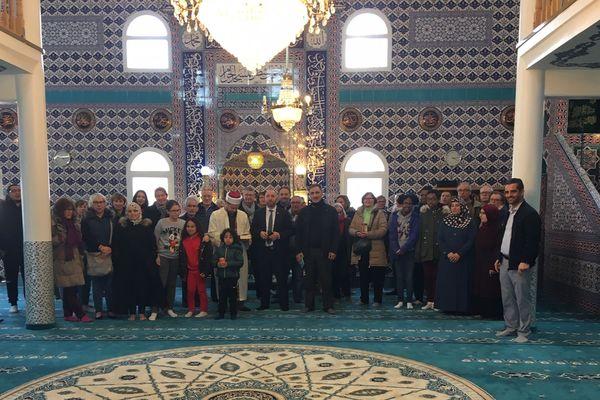 Un public nombreux a visité la mosquée de Flers dimanche 24 mars.