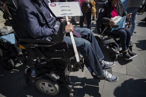 Quelle place pour les personnes en situation de handicap en France ? Une question qui se pose régulièrement comme ici à Paris en mai 2019.