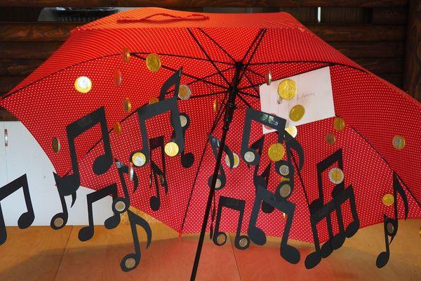 chantons sous sous  la pluie