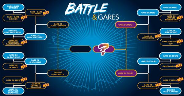Battle & Gare, le concours pour élire la plus belle gare de France.  (2129747)