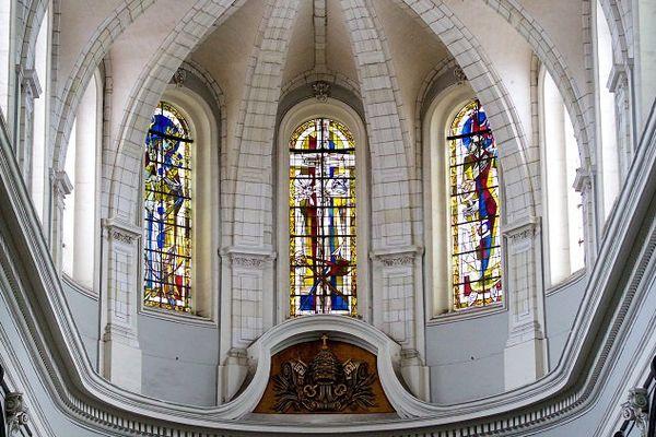 La collégiale Saint-Pierre de Douai. Image d'illustration.