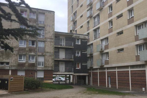 L'appartement du quartier Hauteville où le corps du quinquagénaire a été retrouvé vendredi.