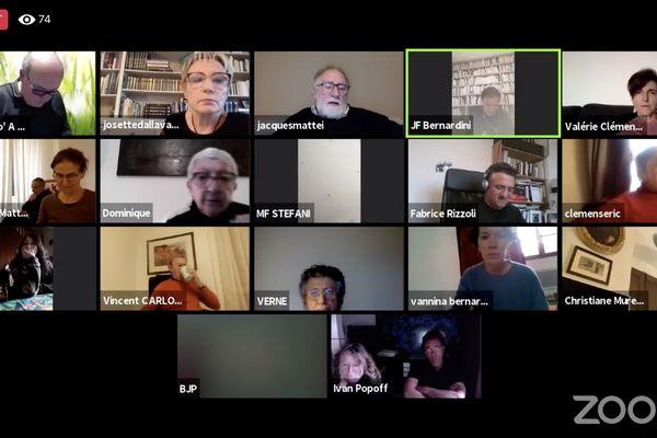 """Le collectif corse anti-mafia """"Maffia NÒ - A vita IÈ"""" a organisé un débat en ligne, ce dimanche 21 mars 2021, intitulé """"La parole aux victimes""""."""
