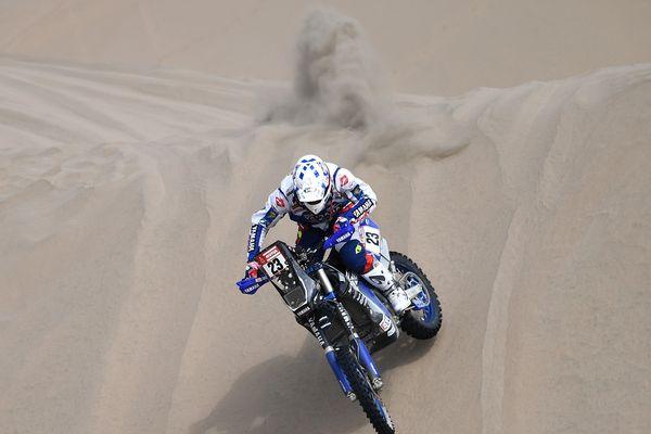 Arrivé premier, Xavier de Soultrait s'est finalement retrouvé deuxième de la cinquième étape du Dakar