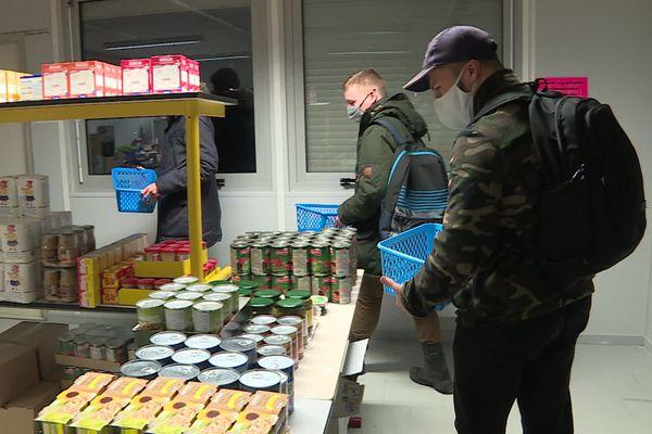 Près de 80 étudiants en situation de précarité bénéficient aujourd'hui de l'aide de l'épicerie sociale et solidaire.