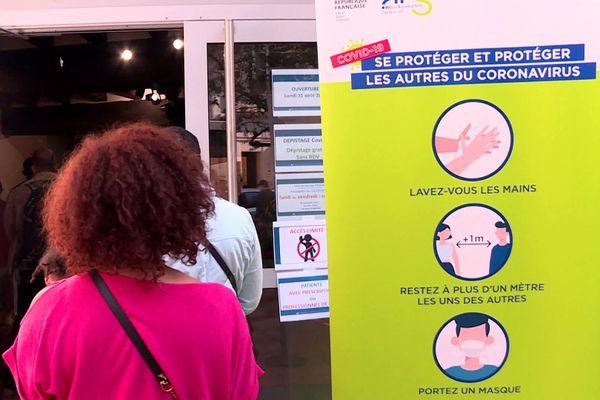 Campagne dépistage de la covid-19 gratuite à Angers