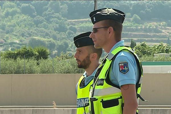 La gendarmerie accentue les contrôles routiers, notamment pour les deux roues, sur les routes des Alpes Maritimes