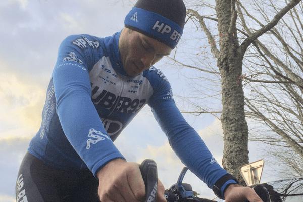 David Menut, le seul cycliste professionnel du Limousin n'a plus d'équipe
