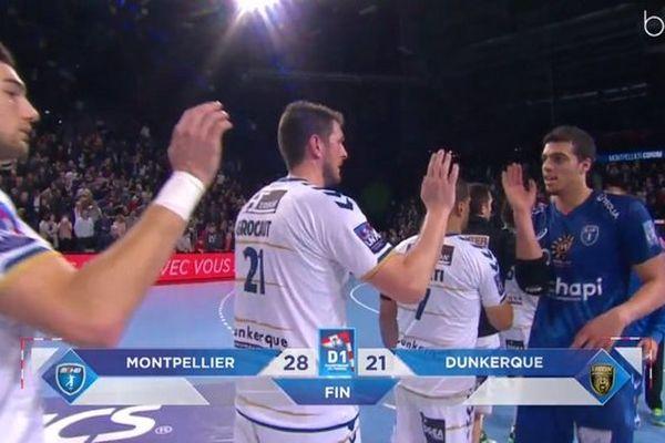 L'USDk largement battu par Montpellier.
