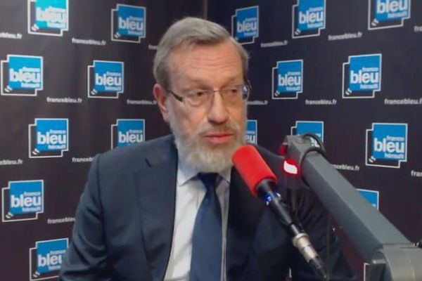 Montpellier - Pierre Pouëssel, préfet de l'Hérault - 22 novembre 2018.