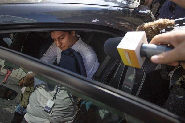 Nicolas Zepeda lors d'une reconstitution a été transporté sur le campus de la Bouloie à Besançon. (Image d'archives)