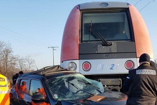 SNCF : la ligne TER Lyon-Roanne à l'arrêt après un accident entre Lozanne et Chazay-Marcilly