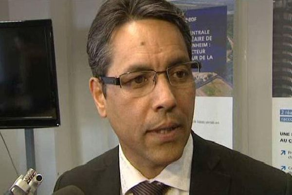 Marc Simon-Jean, directeur de la centrale de Fessenheim