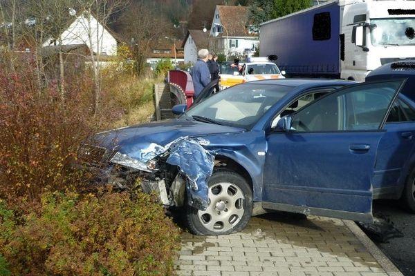 Oppenau (Allemagne) - la voiture dans laquelle Chloé a été retrouvée par la police allemande. Elle était ligotée dans le coffre - 16 novembre 2012 - POLICE OFFENBURG