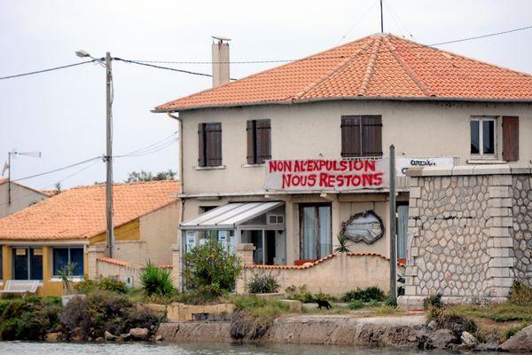 Les cabaniers des Aresquiers à Frontignan dans l'Hérault sont menacés d'expulsion depuis des années par l'Etat