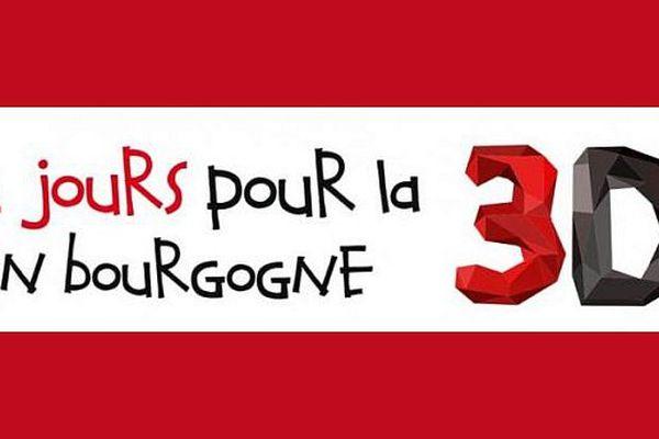 """Les """"2 jours pour l 3D en Bourgogne"""" se tiendront les 21 et 22 avril 2015."""