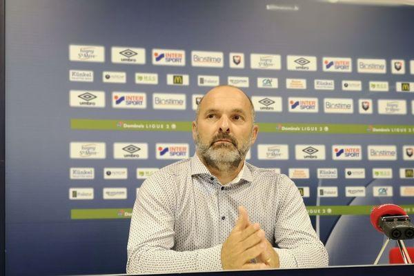 Pascal Dupraz est officiellement le nouvel entraineur du SM Caen.