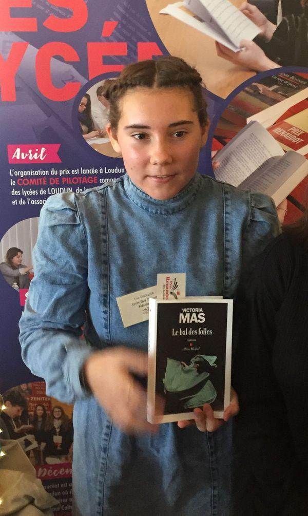 """Le prix Renaudot des lycéens est attribué à Victoria Mas pour """"Le bal des folles"""""""