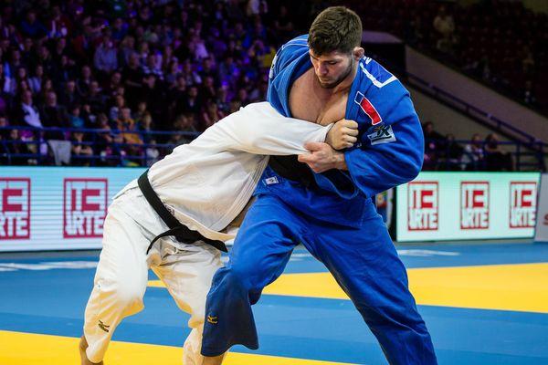 À Budapest, le Dijonnais Cyril Maret s'est incliné face au Letton Jevgenijs Borodavko (le jodoka français ici en bleu lors des championnats d'Europe de Varsovie en avril).