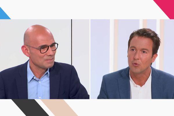 Guillaume Peltier sur la droite