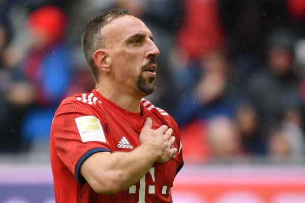 Franck Ribéry, le 4 mai 2019 à Munich (Allemagne).