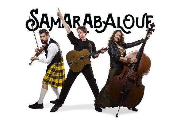 Le trio Samarabalouf ouvre la série de concerts programmés par Les Internationales de la guitare à Marvejols en Lozère vendredi 18 septembre 2020.