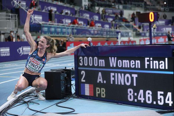 Alice Finot a réalisé un magnifique temps sur 3000m, à l'Euro de Pologne.
