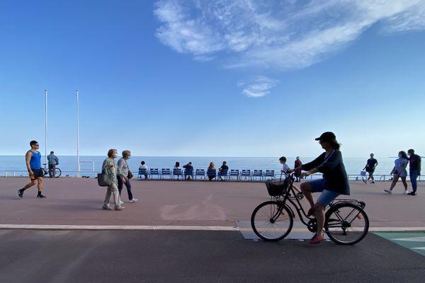 A Nice, les habitants se déplacent plus souvent à vélo depuis l'épidémie de Covid.