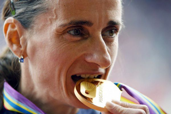 Christelle Daunay, ici aux championnats d'Europe 2015, rêve d'une médaille olympique