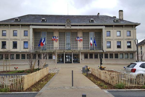 La mairie d'Argentan