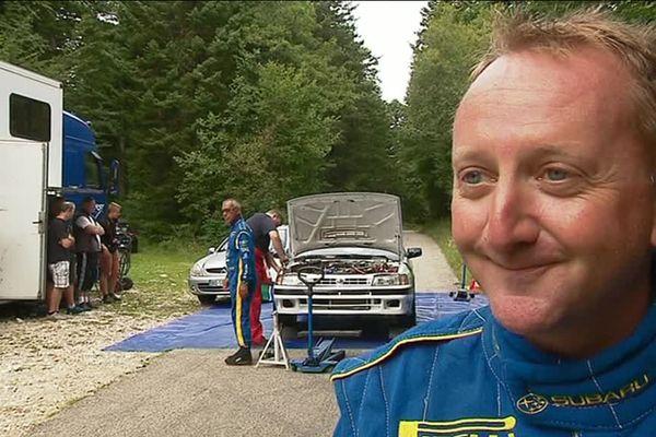 L'ancien champion des rallyes, Benoit Rousselot