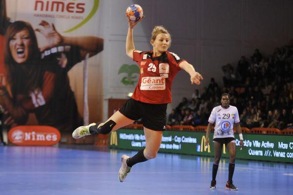 Exploit de Nîmes face à Fleury-Loiret 22-21 en demi-finale de la coupe de France de handball - 25 mars 2015
